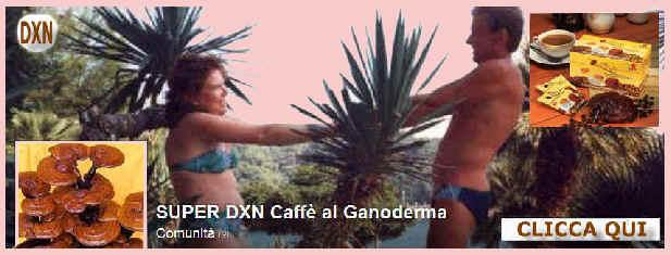 Caff� della salute con il GANODERMA